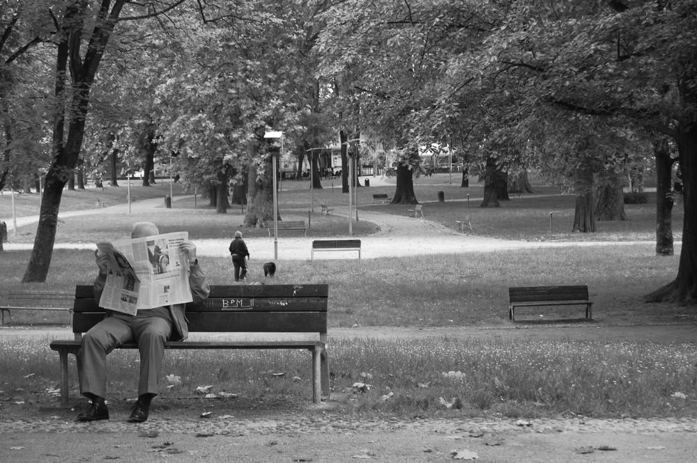 pomeriggio nel parco