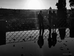 Pomeriggio romano dopo la pioggia