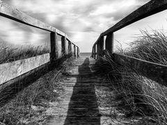 Pont à la plage