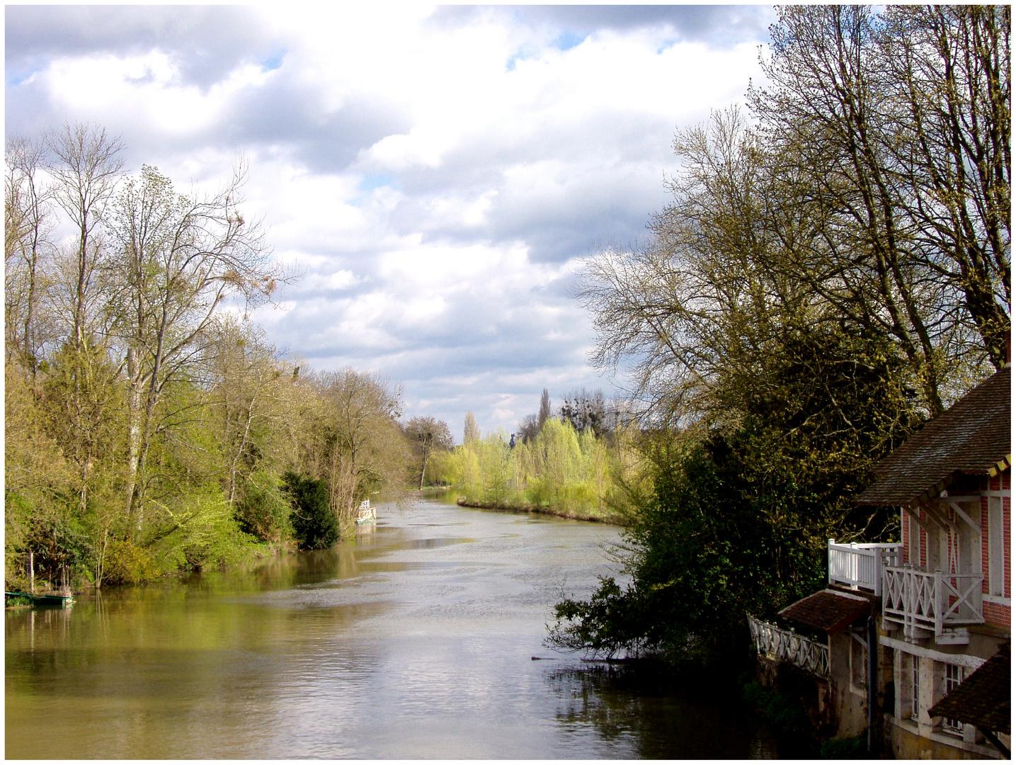 Pont de Cloye sur le Loir