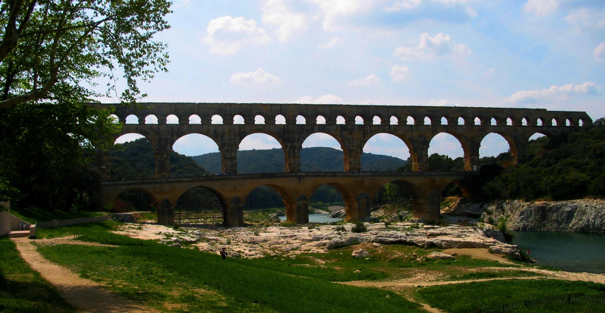 Pont du Gard / Südfrankreich