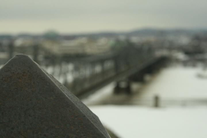 pont floué