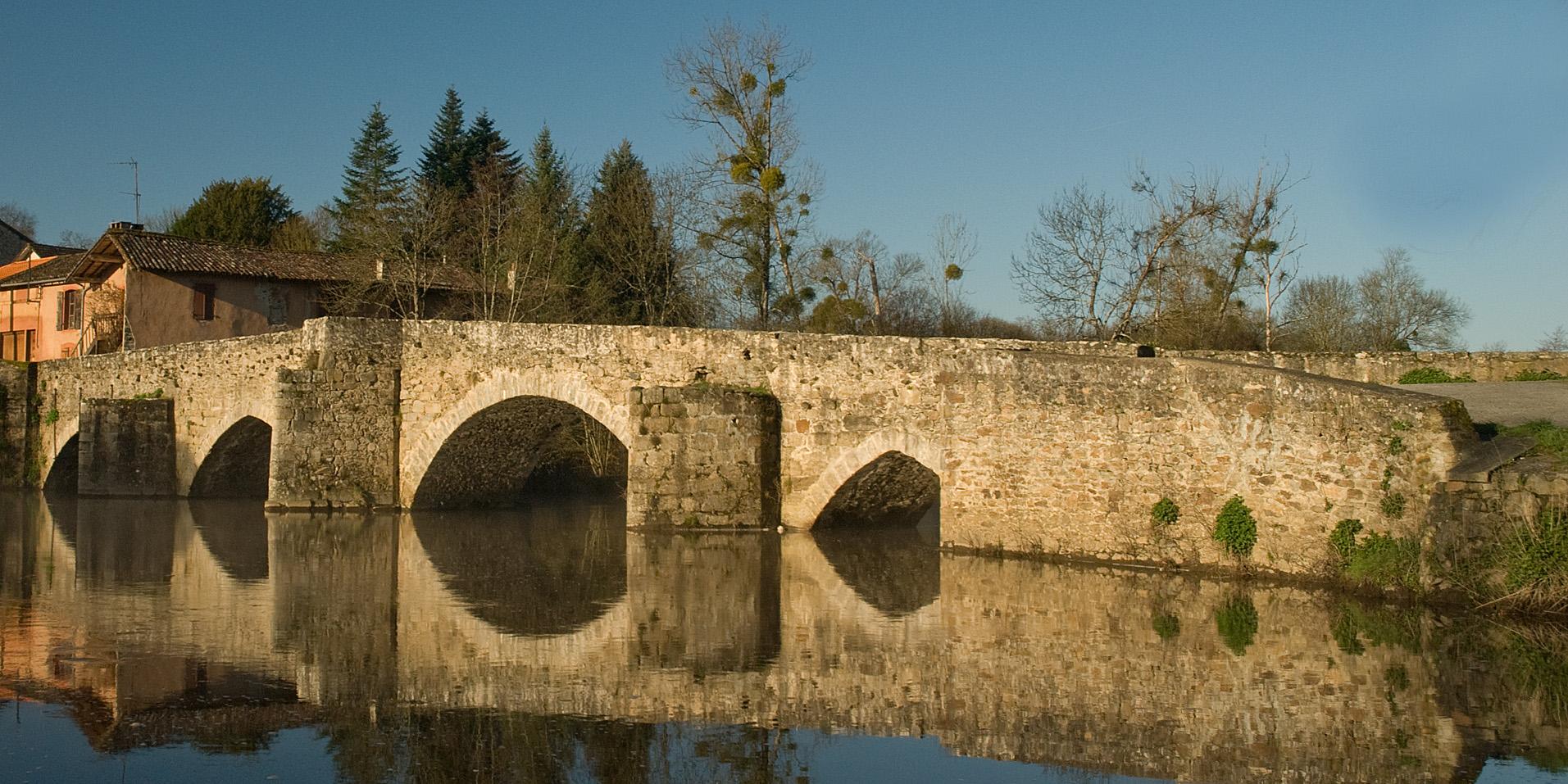pont gothique (Bellac)
