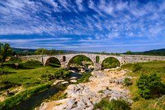 Pont Julien bei Bonnieux, Vaucluse, Provence, Frankreich