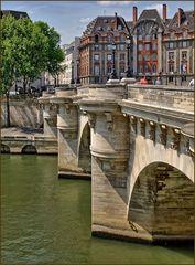 Pont Neuf in Richtung Quartier Latin