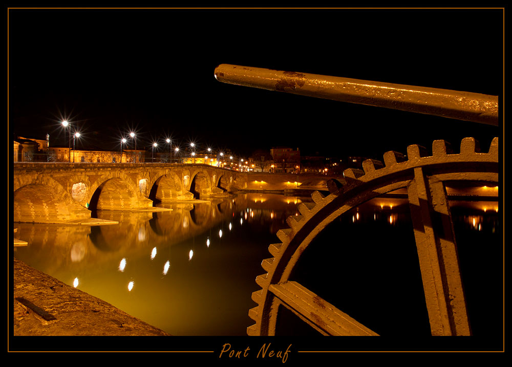 Pont Neuf in Toulouse (Reload)