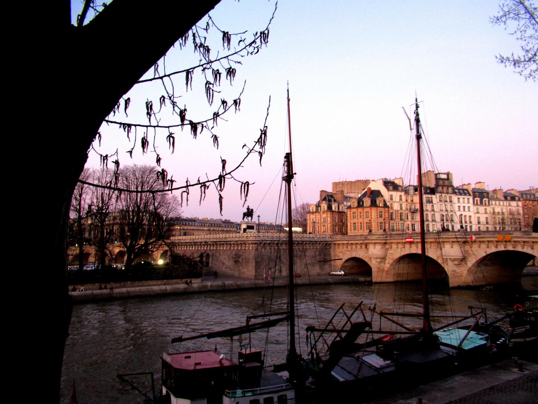 Pont Neuf le 1er jour de Printemps.