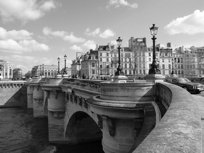 pont neuf Paris (Startfoto auf der deutschen FC im Dezember 2019)