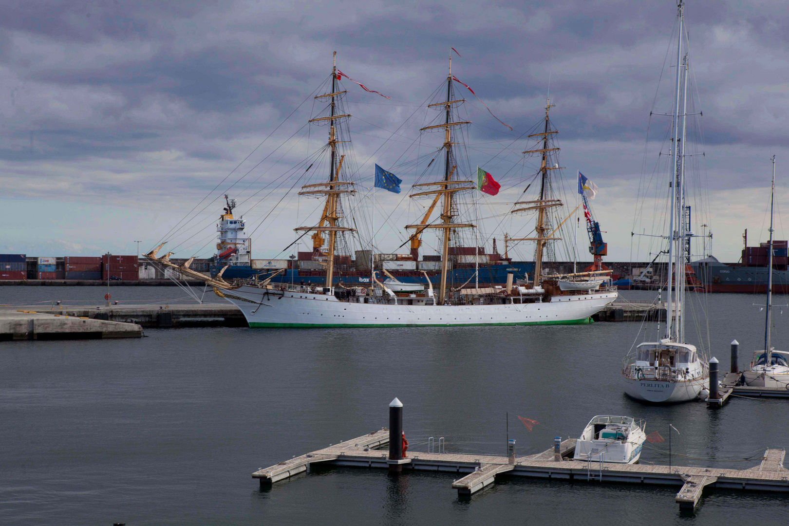 Ponta Delgada Hafen2
