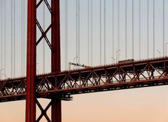 Ponte 25 de Abril, Lisboa, Portugal (Detail)