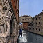 Ponte dei Sospiri Seufzerbrücke Venedig