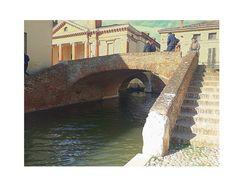 Ponte della Ca' o degli sbirri...Comacchio(Fe) ..