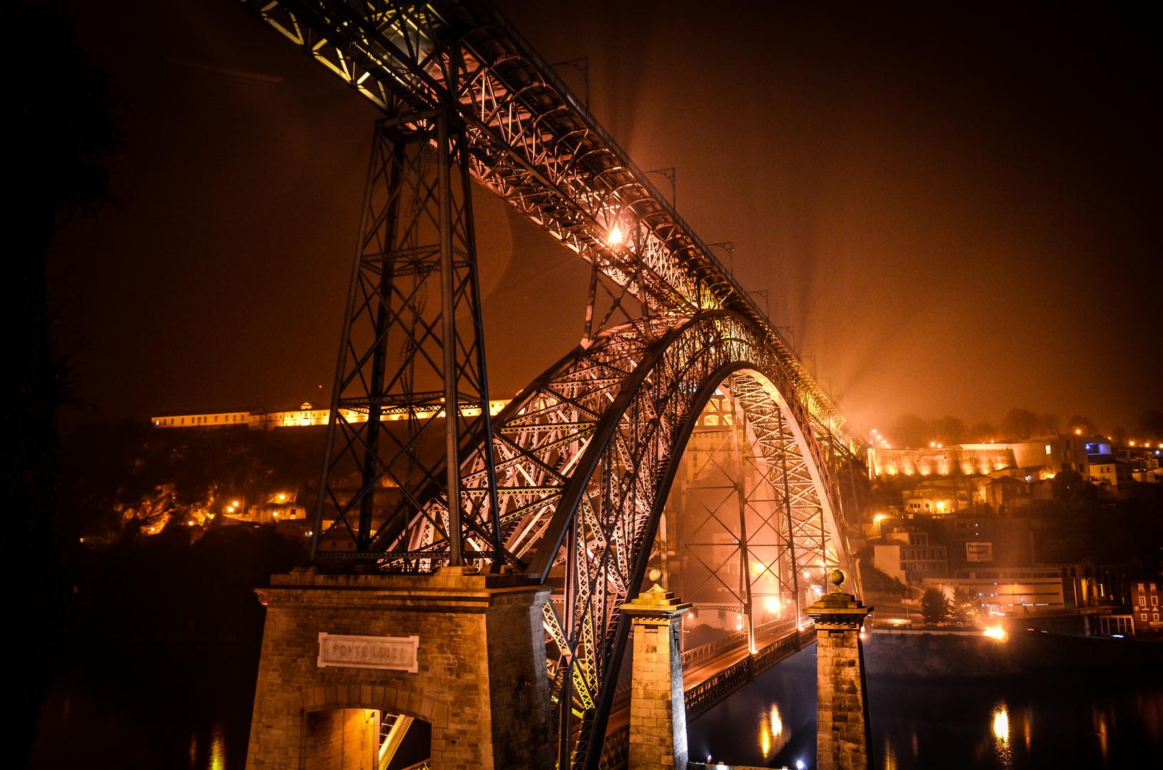 Ponte Dom Luis I by Night