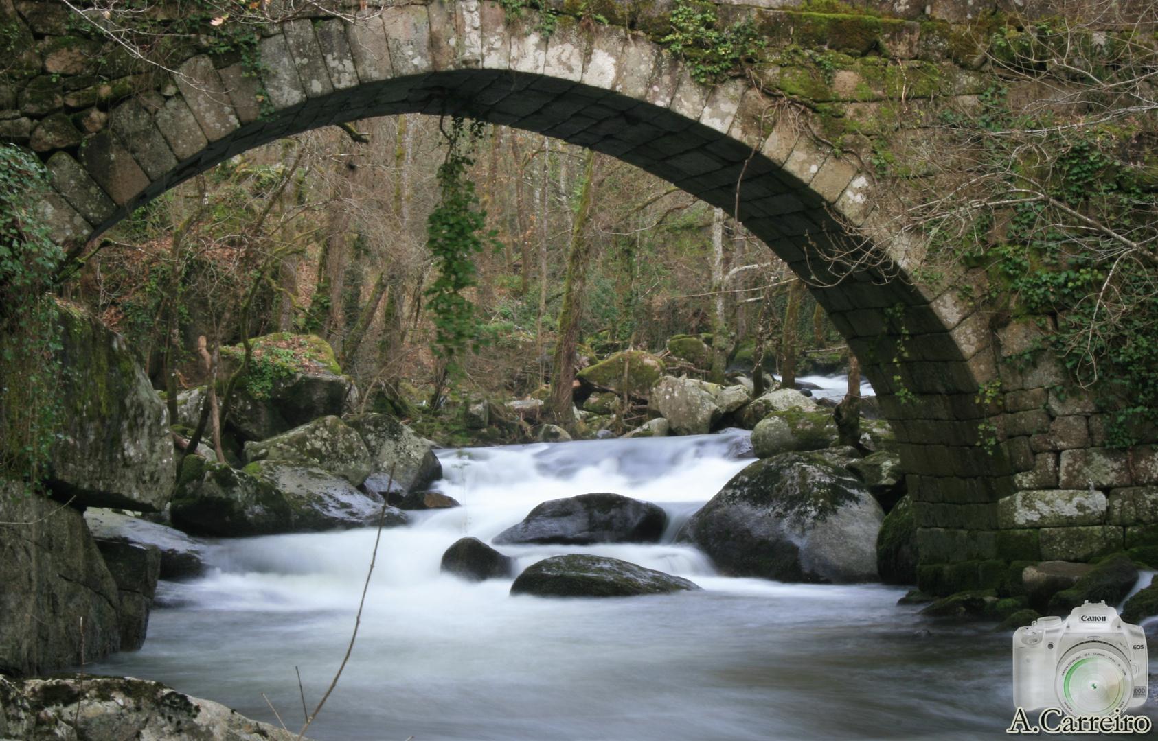Ponte Romana Pazos de Arenteiro.