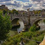 Ponte Sant'Angelo- Engelsbrücke Rom  -
