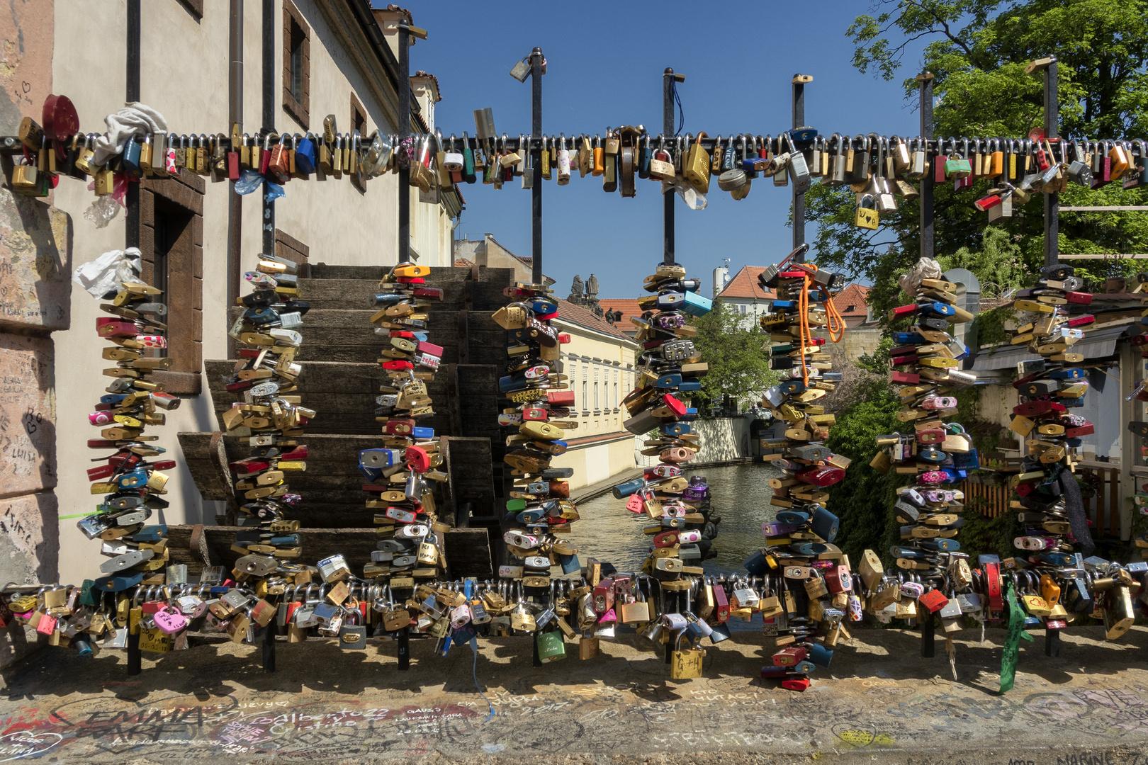 Ponte sul canale del diavolo, Praga