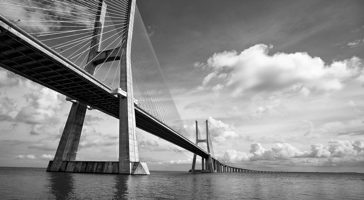 Ponte Vasco da Gama, Lisboa Portugal