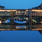 Ponte Vecchio allo specchio...