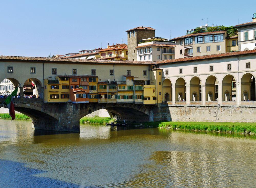 """"""" Ponte Vecchio """" ( Nord - Ostseite )"""
