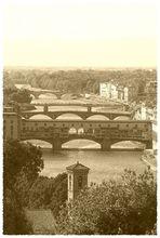 Ponte Veccio ano 1900
