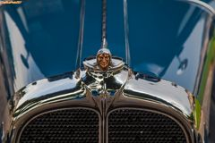 Pontiac Big Six Fisher Sedan USA 1929 Markenzeichen