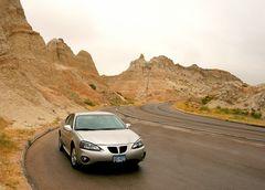 Pontiac in den Badlands