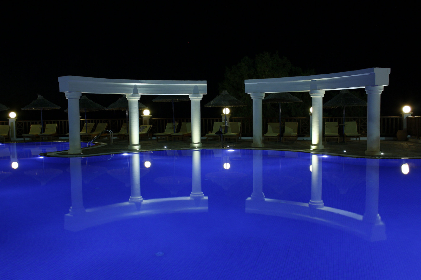 Pool im Alexander-Beach - Kreta