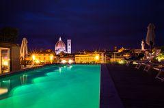 Pool-Position über Florenz