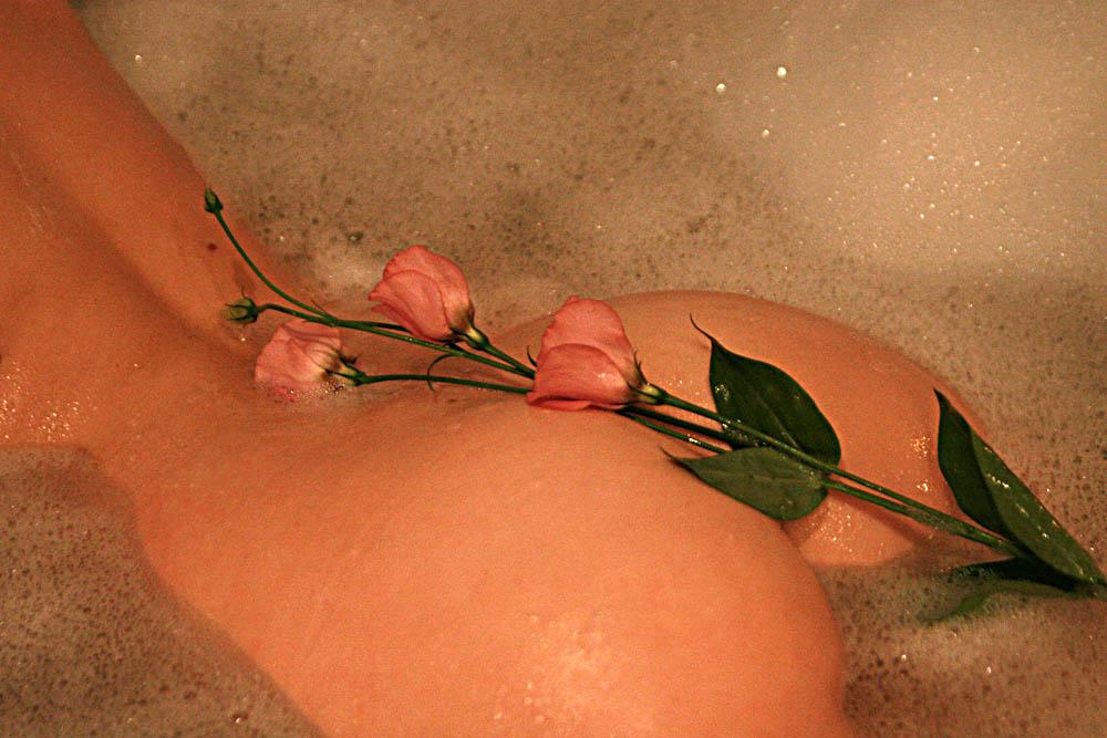 Popo_Blümchen oder : *schöne warme weiche Frau*
