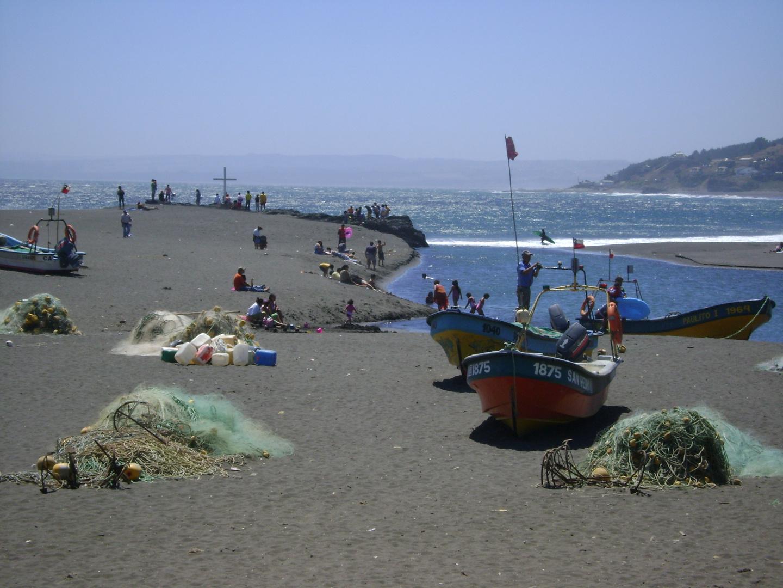Poquito Antes del Tsunami en Chile