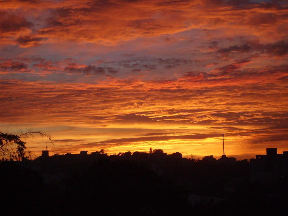 Por do sol ou nascer do sol?