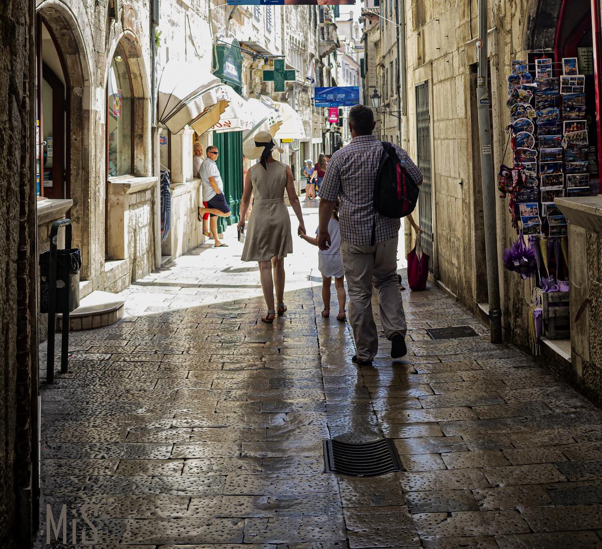 Por las callejas de Split