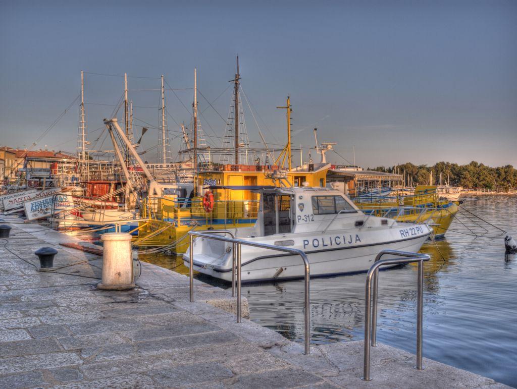Porec - Hafen