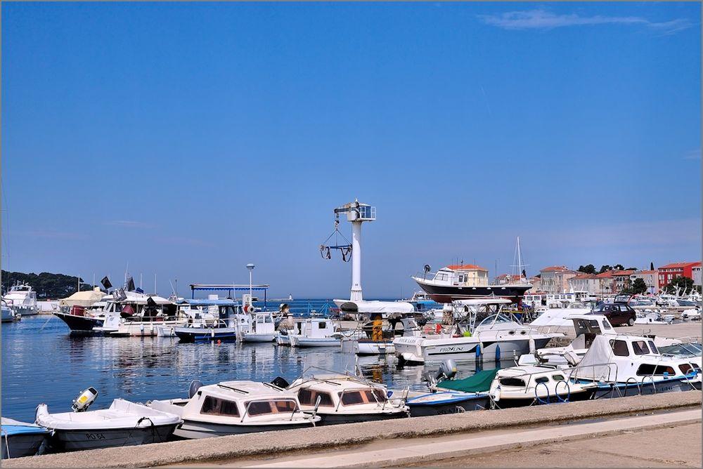 Porec - Im Hafen (2)