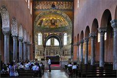 Porec - In der Euphrasius Basilica