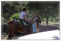 Porque los jinetes a caballo ligan mas?
