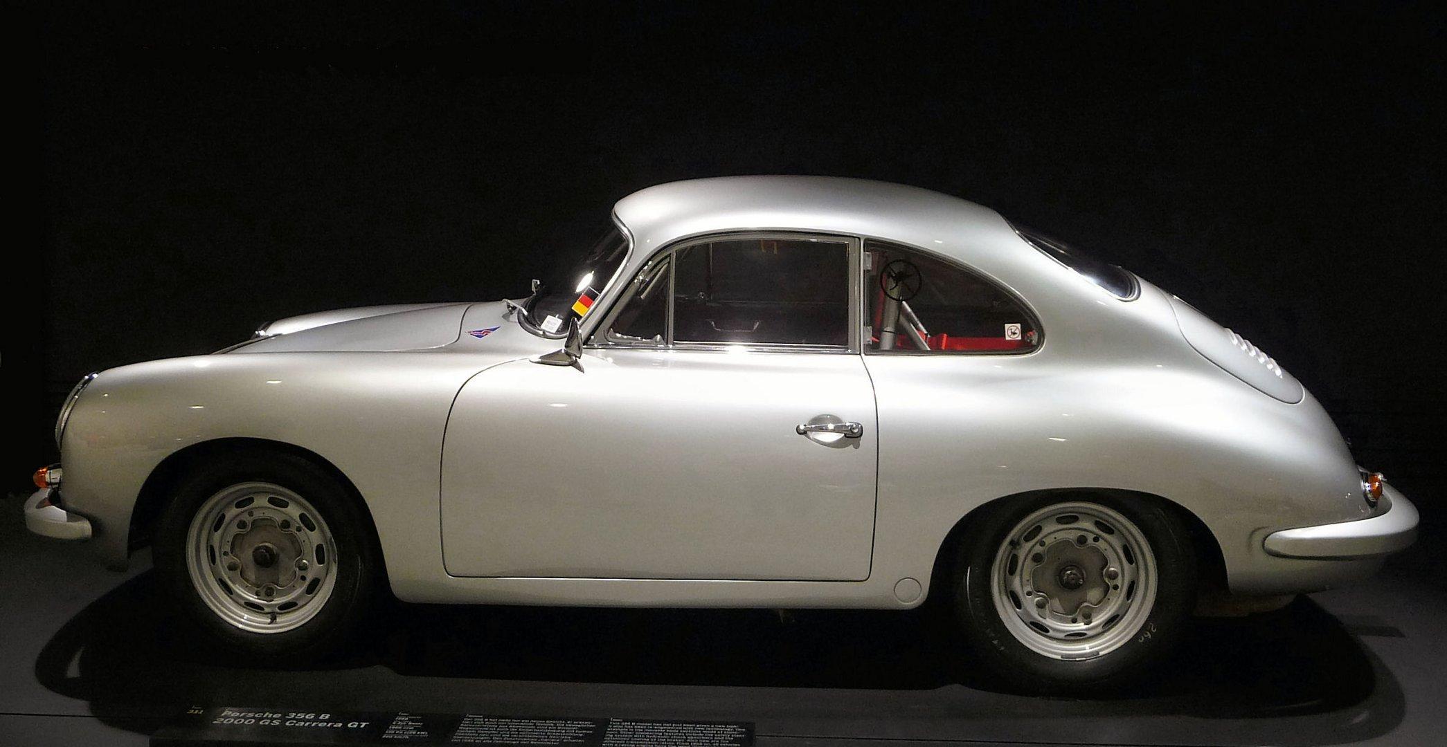 PORSCHE 356 B 2000 GS CARRERA GT