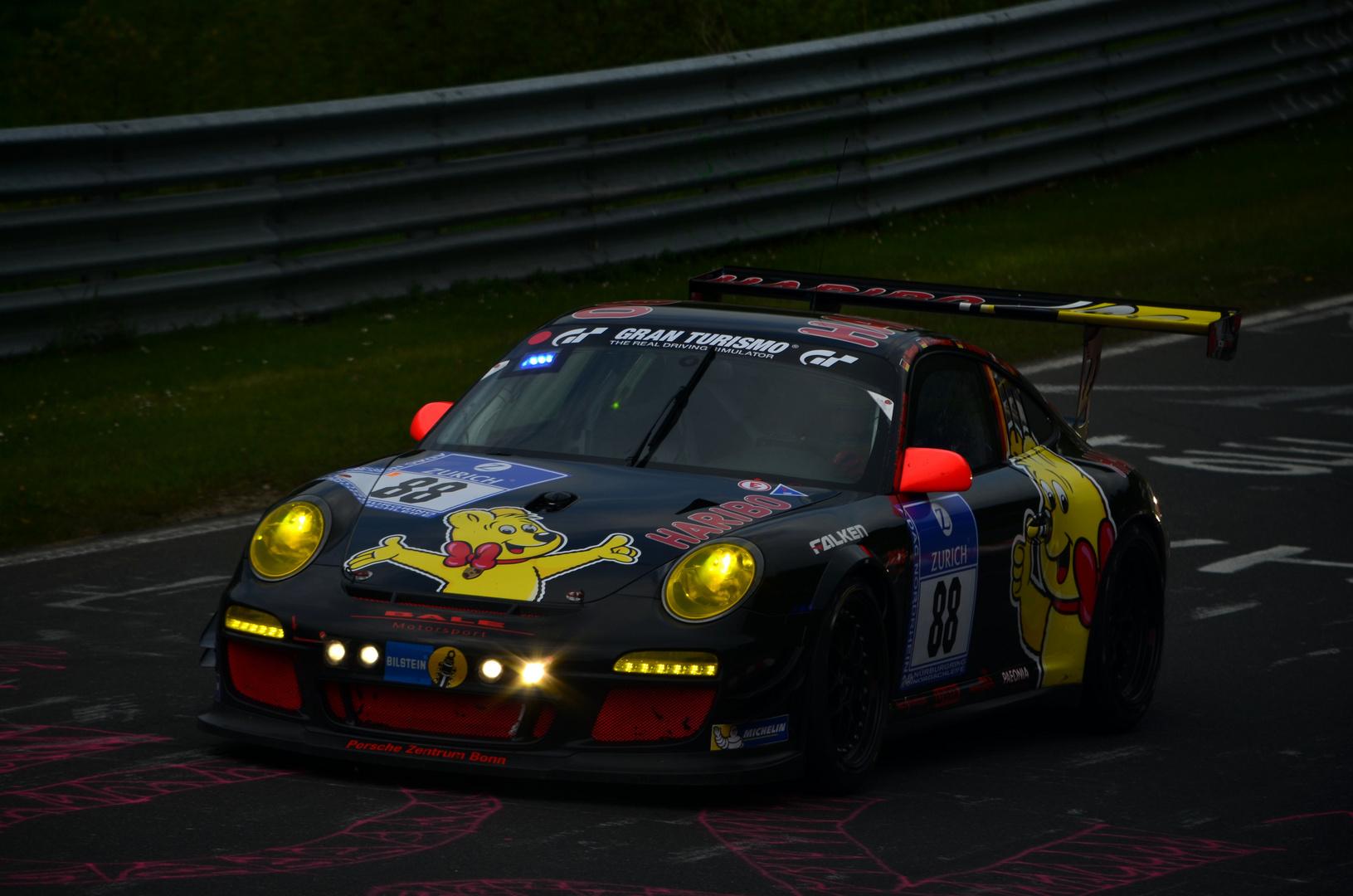 Porsche 911 GT3 Cup beim 24h Rennen 2013