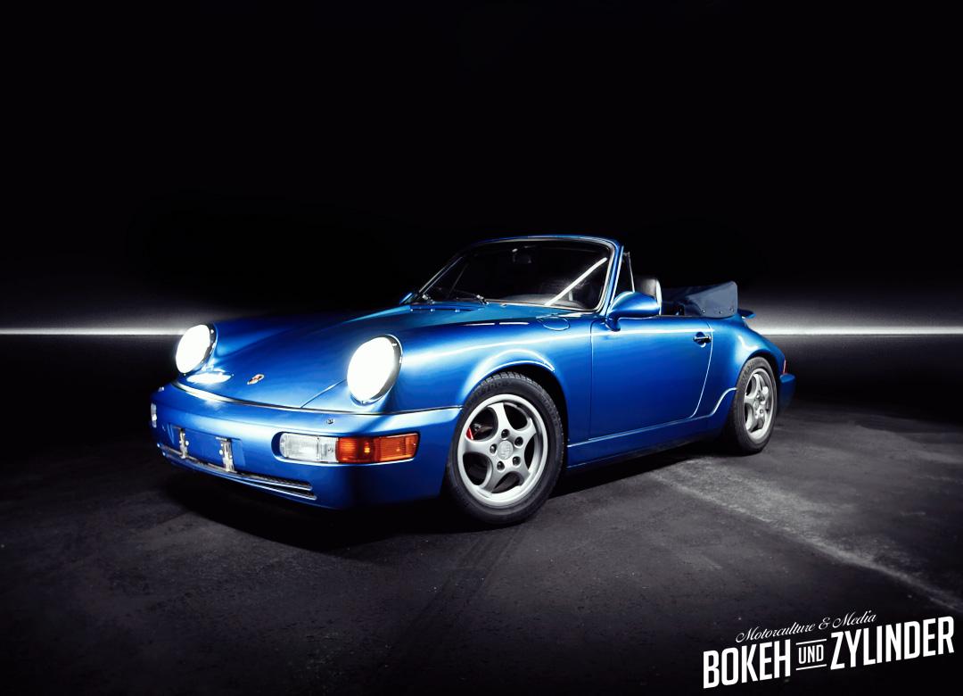 Porsche 964 - Elektroauto