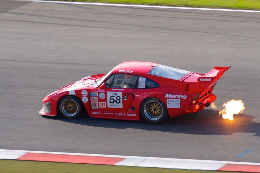 Porsche Feuer