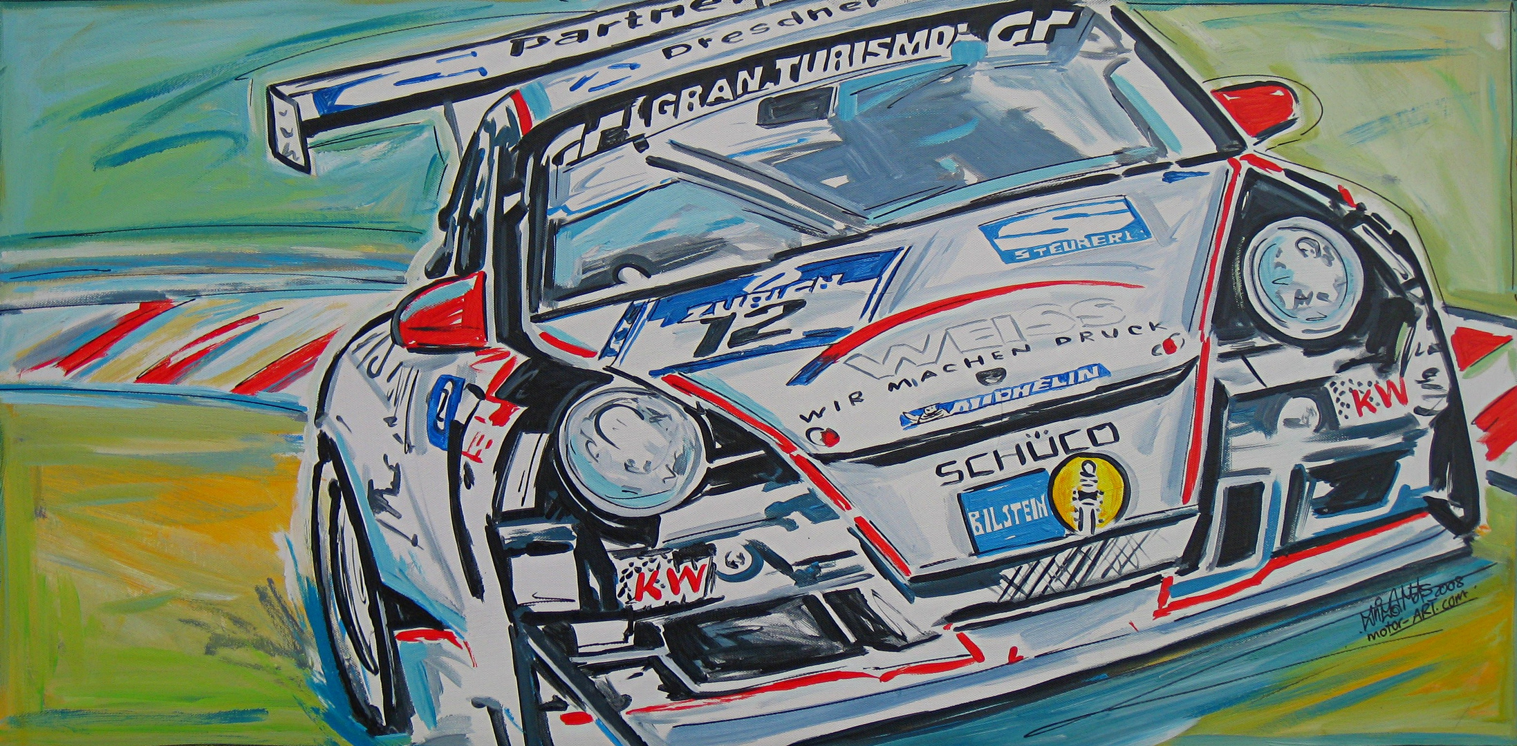 """Porsche in Action II "", 2009"