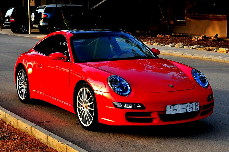 Porsche In The Sahara