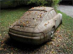Porsche langzeitgeparkt
