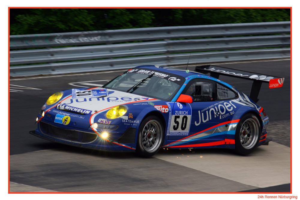 Porsche Power beim 24h Rennen