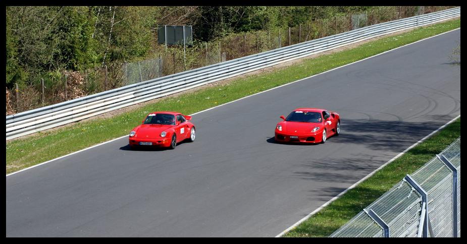 Porsche Vs. Ferrari