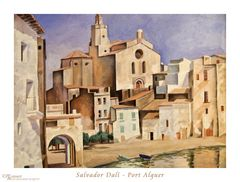 Port Alguer - Dali 1923