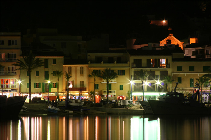 Port Andrax der Promihafen auf Malle