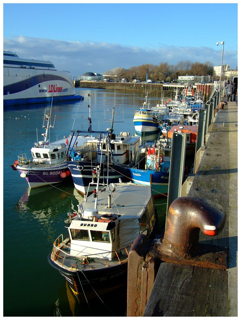 Port de Boulogne sur mer