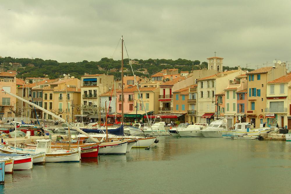 Port de Cassis en Provence
