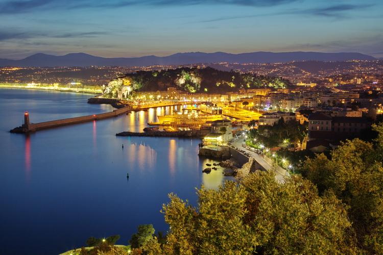 port de nice (photo en HDR)